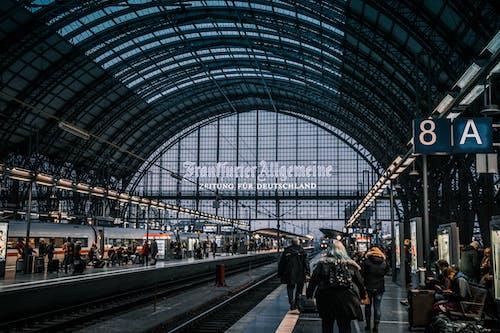 Gratis stockfoto met architectuur, centraal Station, Duitsland, Frankfurt