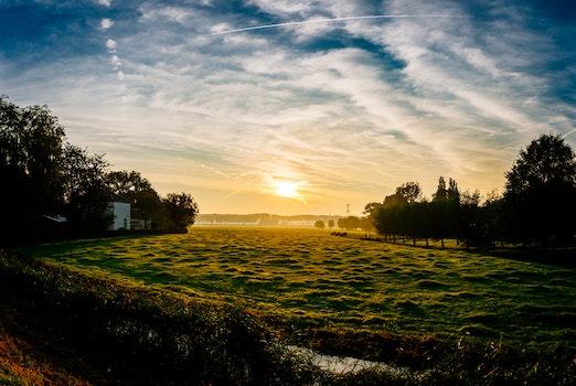 Free stock photo of landscape, nature, sunset, sunrise