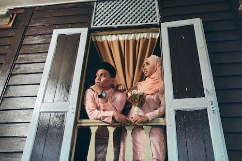 Free stock photo of adult, berbaju melayu, budaya