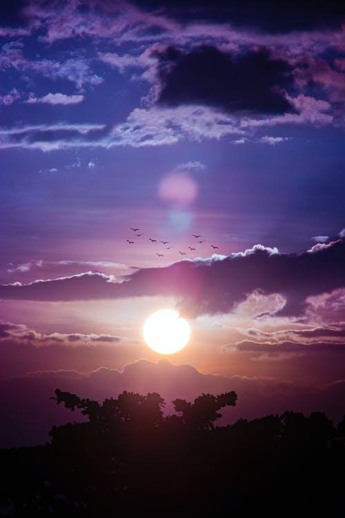Gratis lagerfoto af aften, himlen, landskab