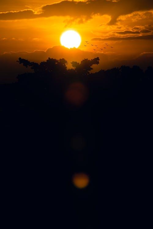 Gratis lagerfoto af aften, astronomi, farverig