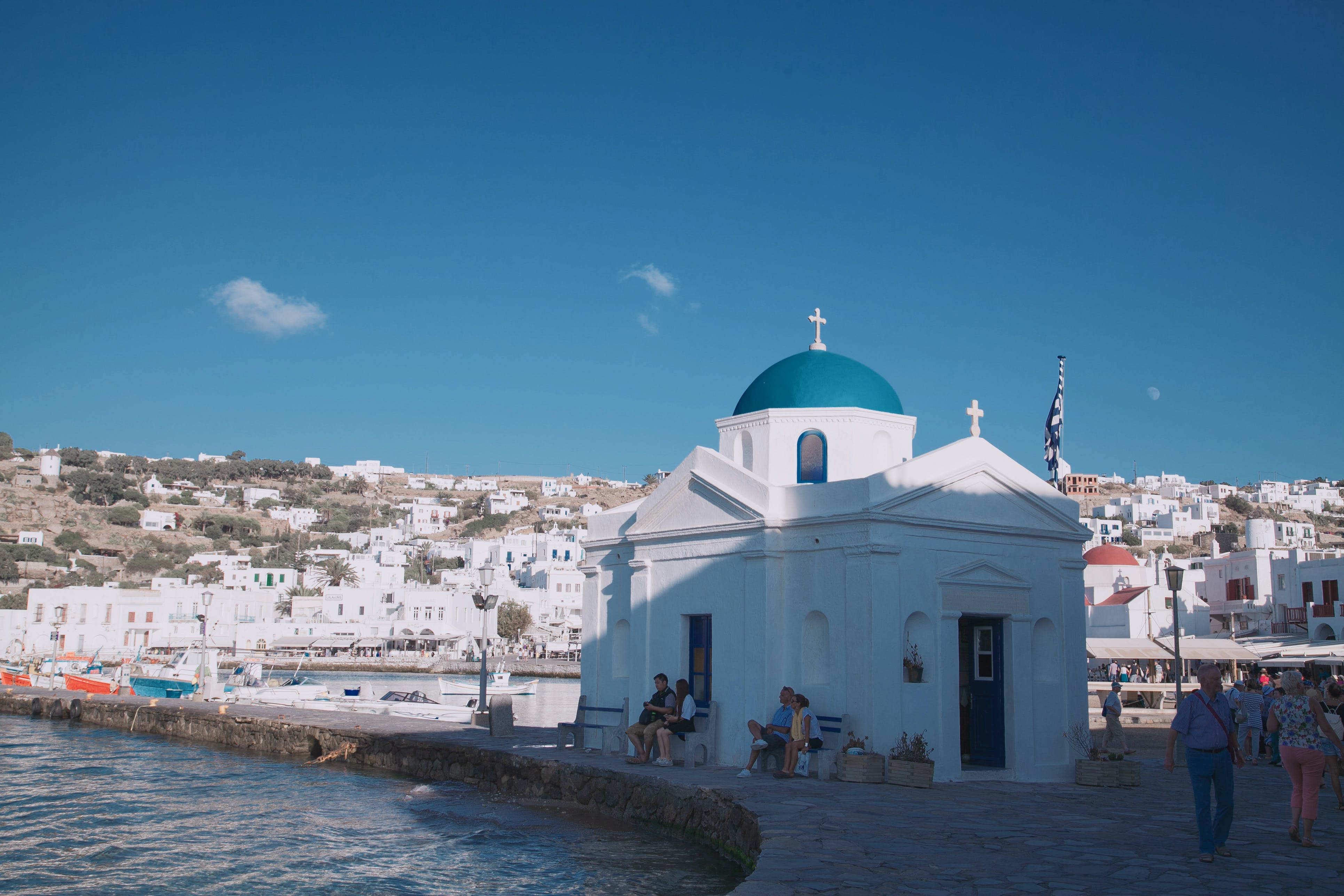 White Cathedral Under Clear Blue Sky