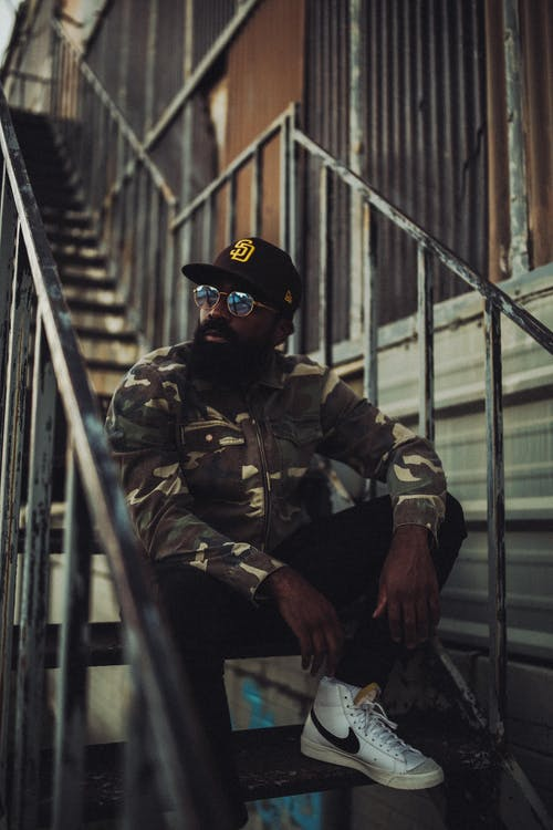 Gratis lagerfoto af afroamerikansk mand, fashionabel, hiphop