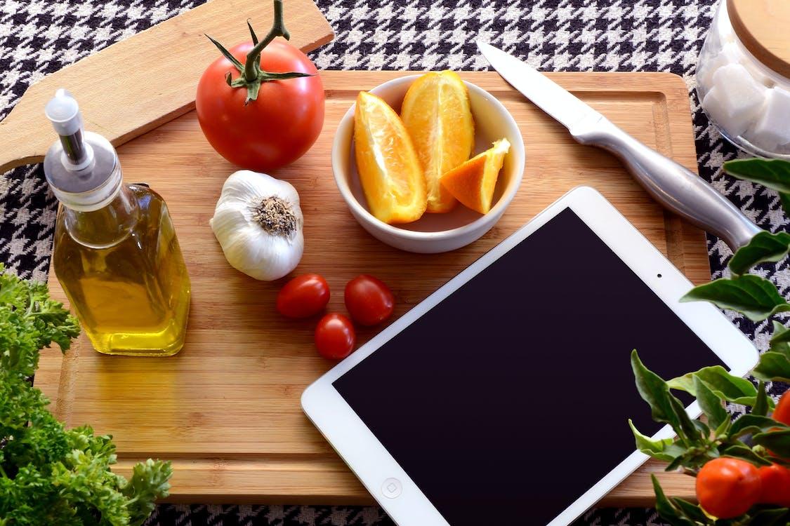 egészséges, élelmiszer, étel