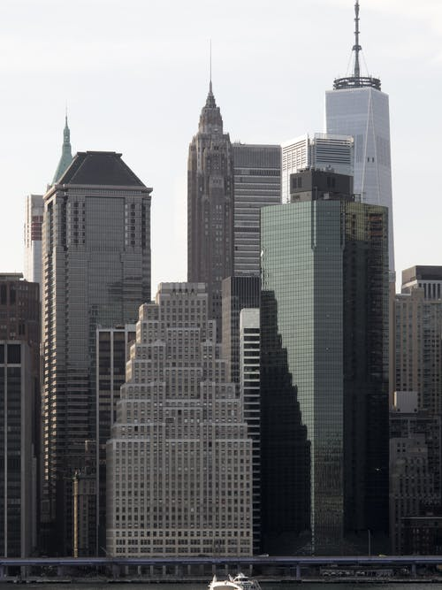High Rises on a City