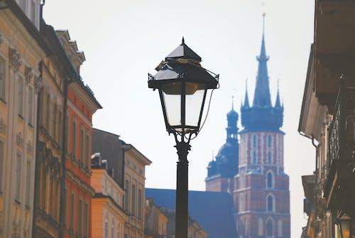 binalar, krakow, lamba direği, makro içeren Ücretsiz stok fotoğraf