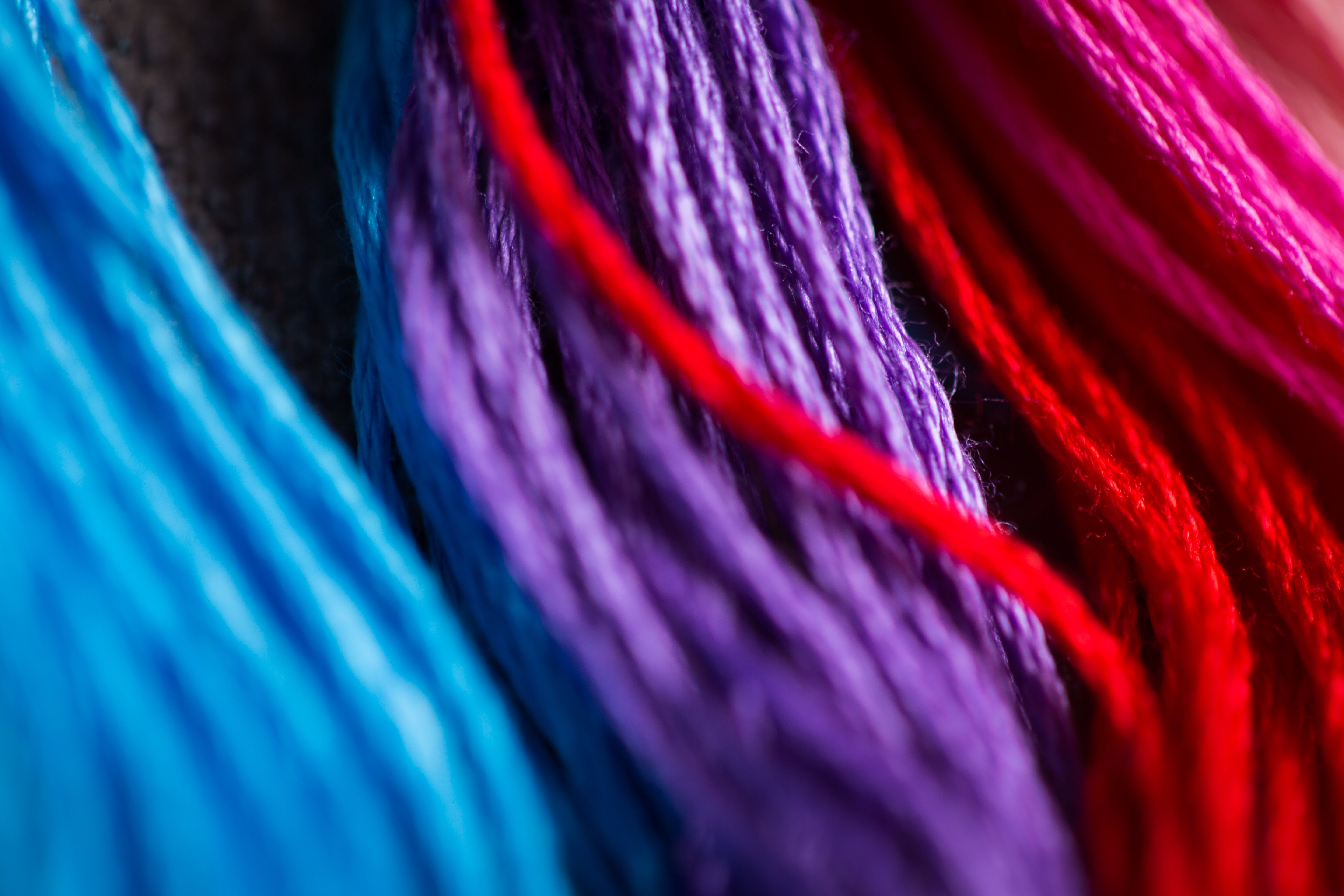 Free stock photo of color, craft, rainbow, sewing