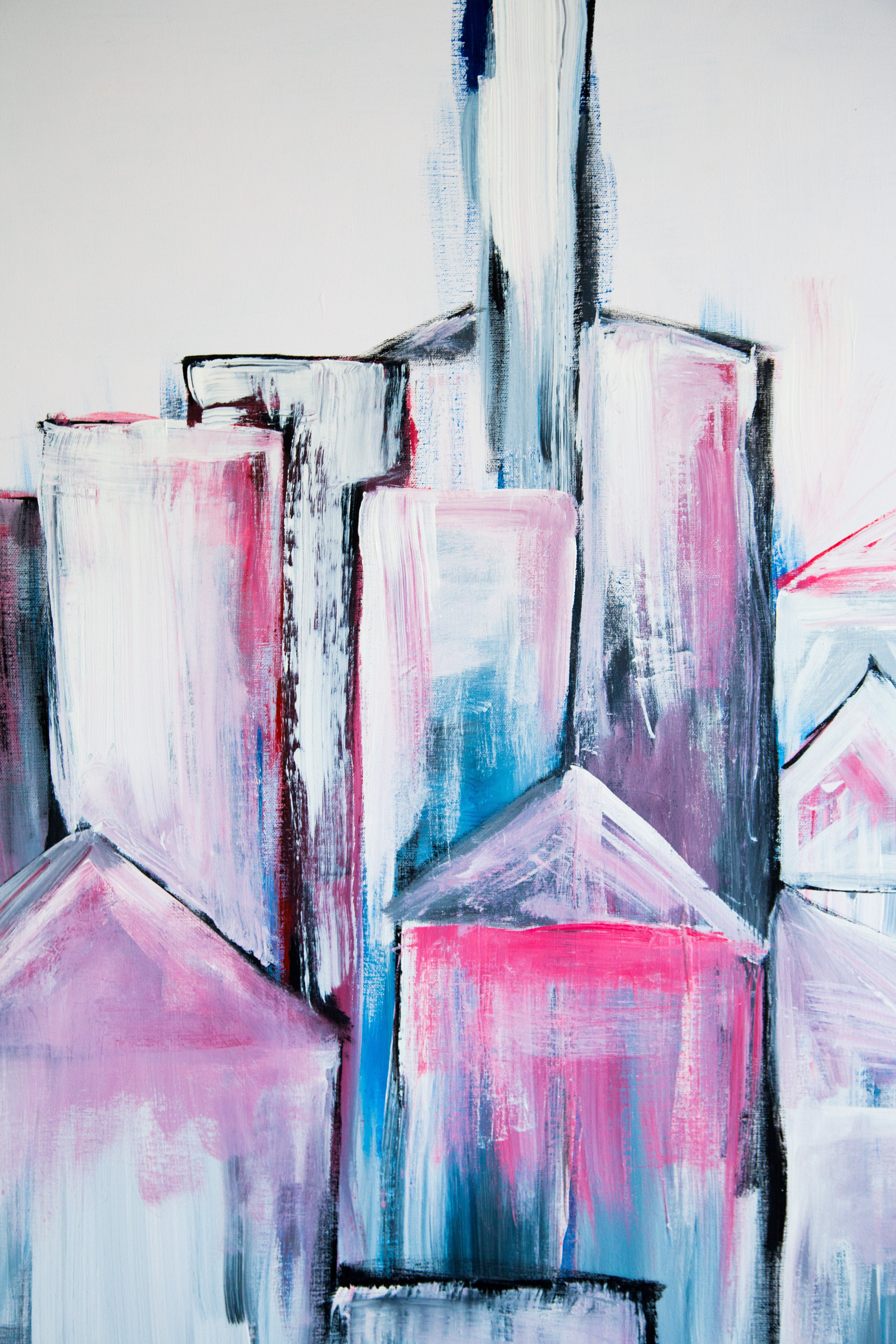 Free stock photo of abstract, apartments, art, buildings