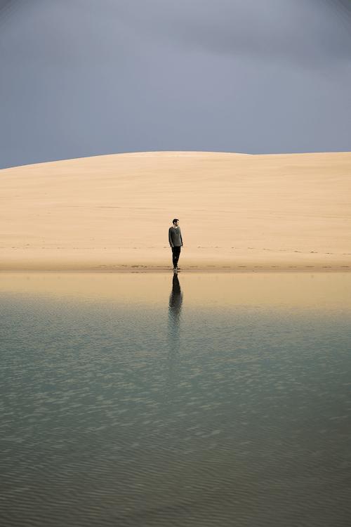 Photos gratuites de #minimaliste, bord de mer, côte, défi photo # minimalisme