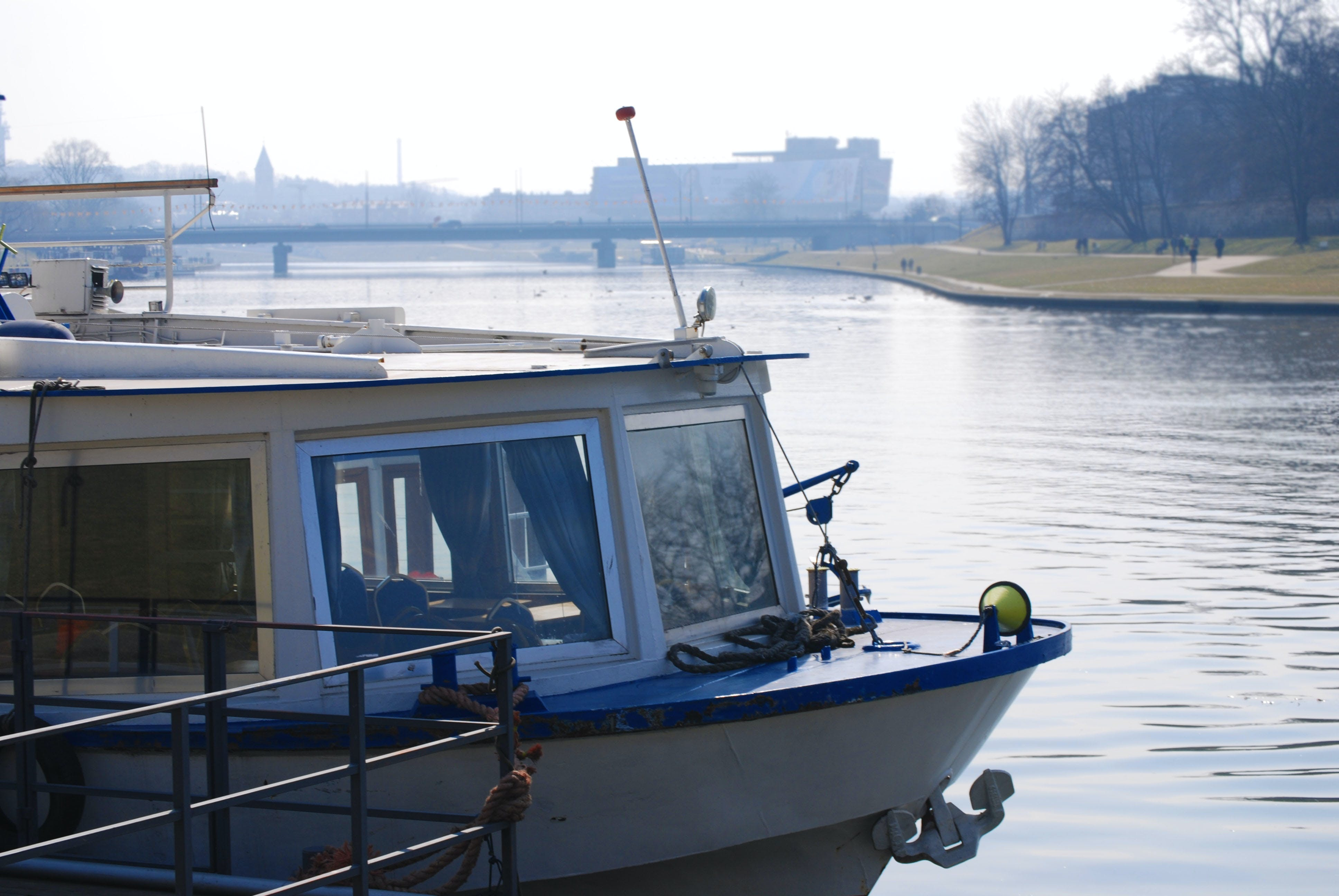 Free stock photo of blurred background, boat, cracow, krakow