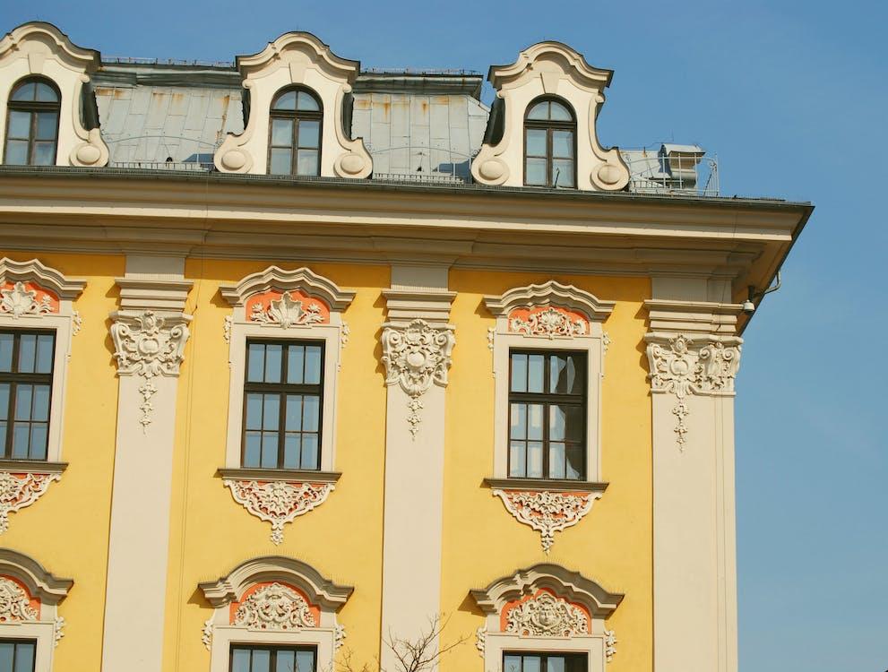 architektúra, budova, fasáda