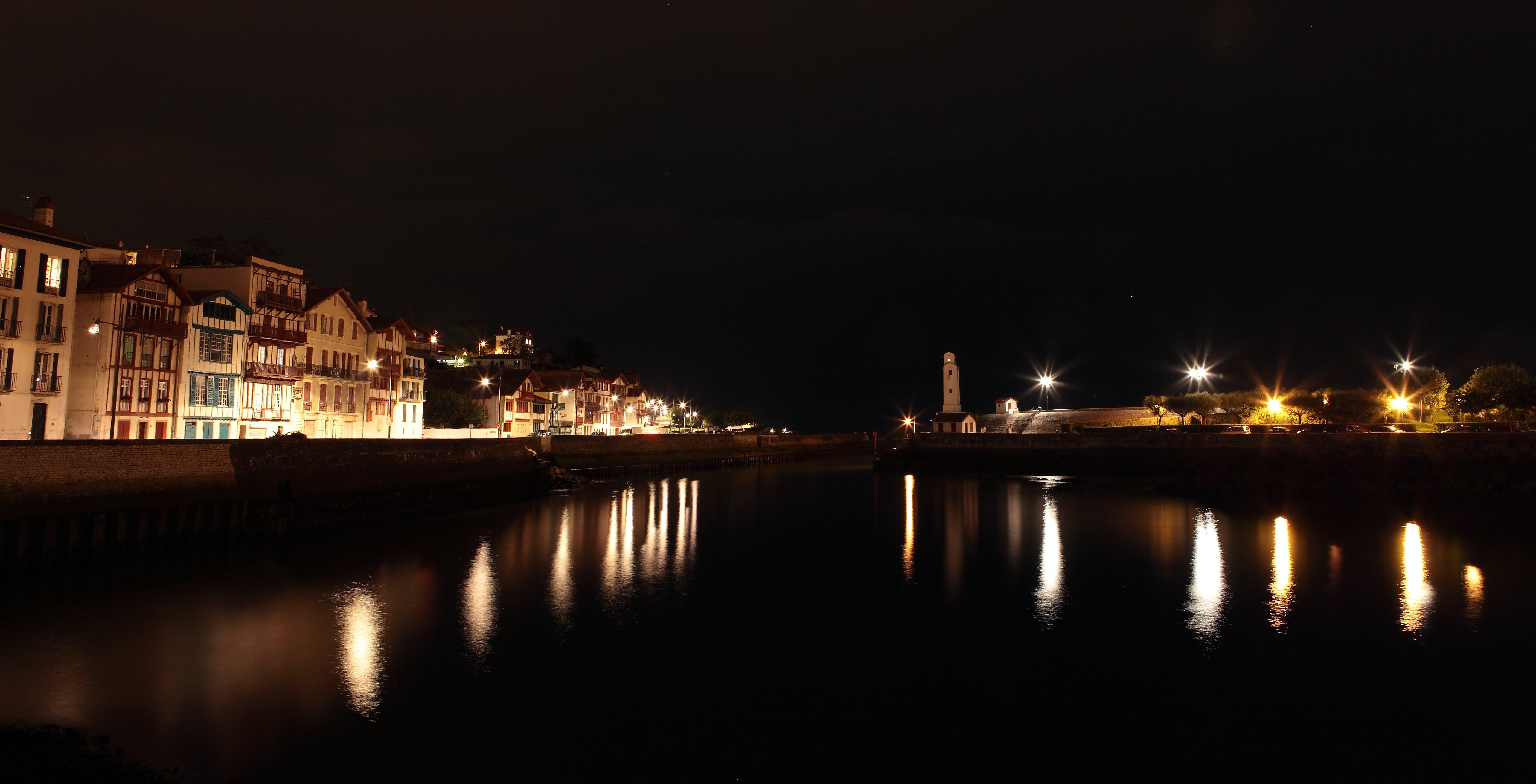 Free stock photo of beautiful, boat, coast, night