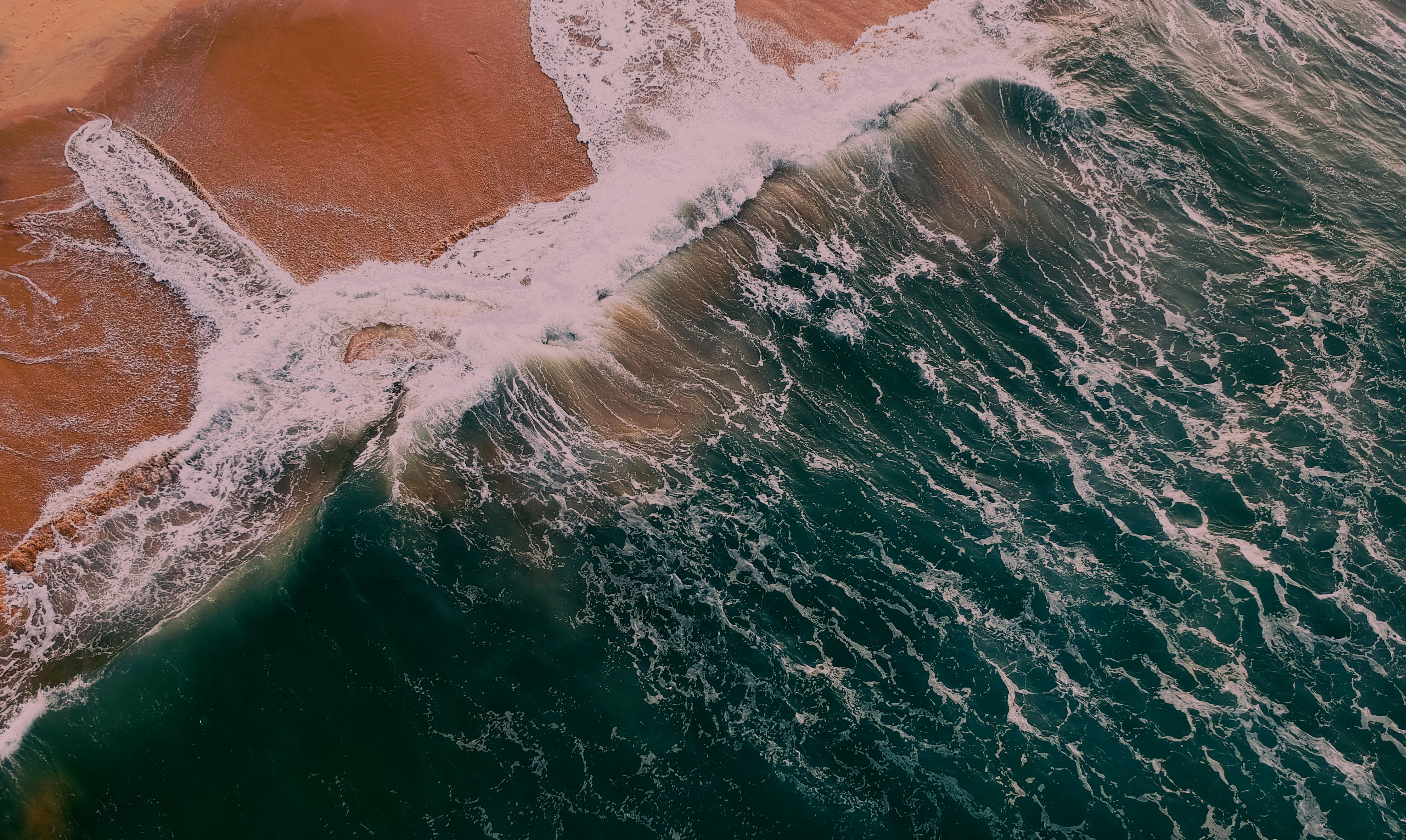 Aerial View Photography of Beach