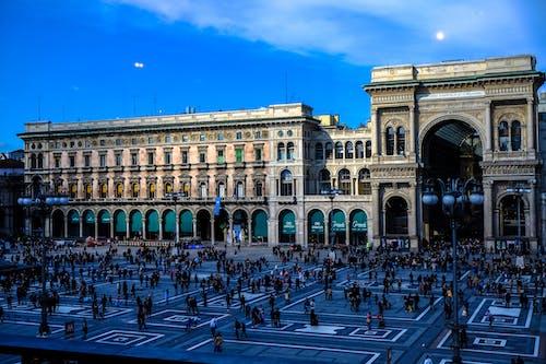 Základová fotografie zdarma na téma architektura, budova, galleria vittorio emanuele ii, Itálie