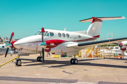 aviate, 天空, 機翼, 用飛機飛行 的 免費圖庫相片