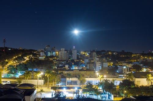 Fotos de stock gratuitas de ciudad, exposición larga, Luces de la ciudad