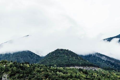 天性, 安道爾, 山, 有霧 的 免費圖庫相片