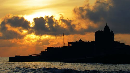 Foto profissional grátis de nascer do sol