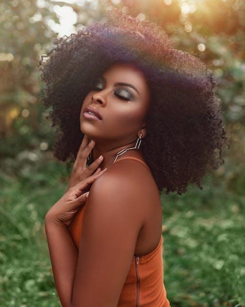 Бесплатное стоковое фото с dreadlock, Афро, волос