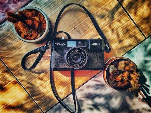 Free stock photo of analog camera, antique, camera, equipment
