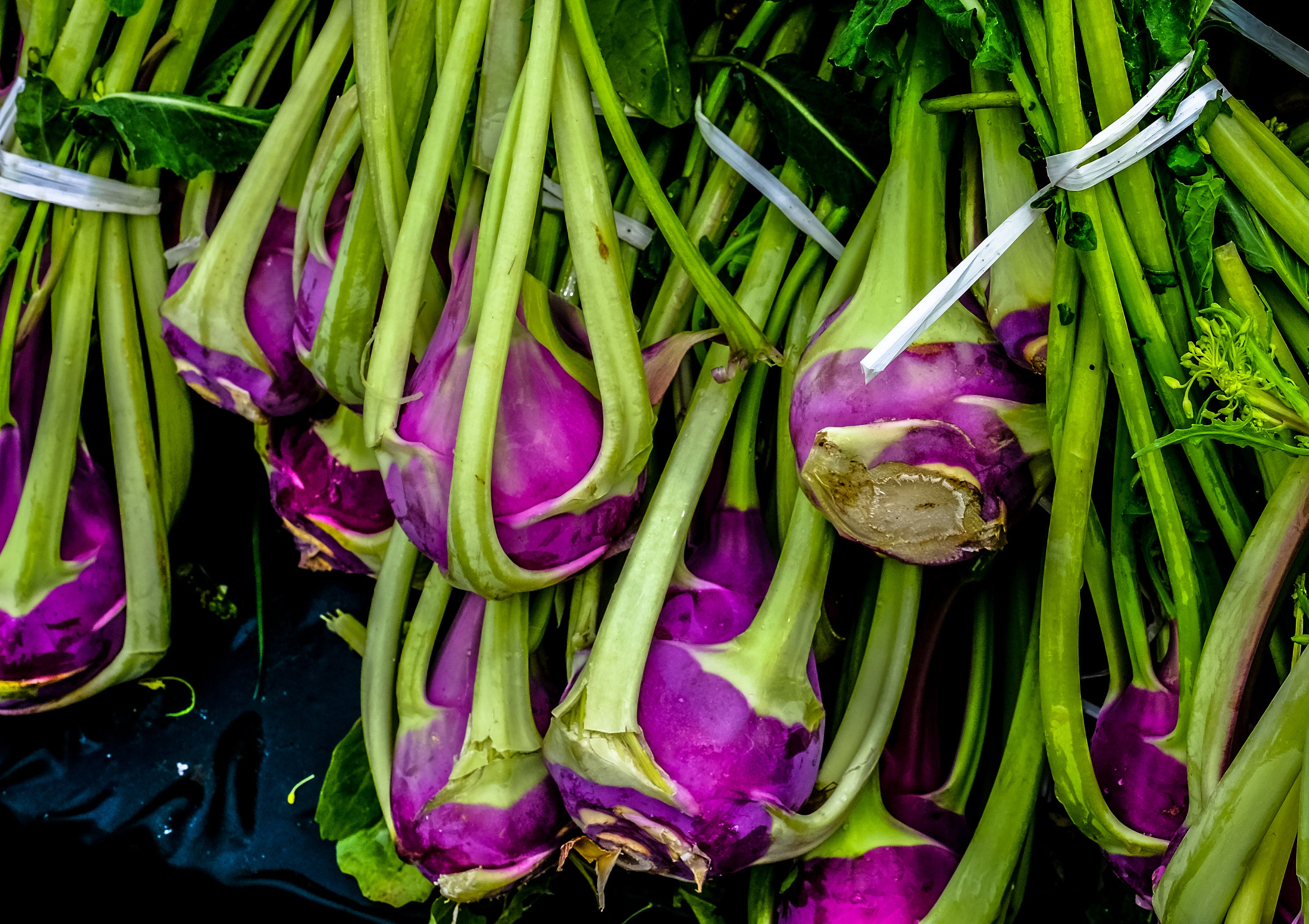 Free stock photo of food, vegetables, purple, leaves
