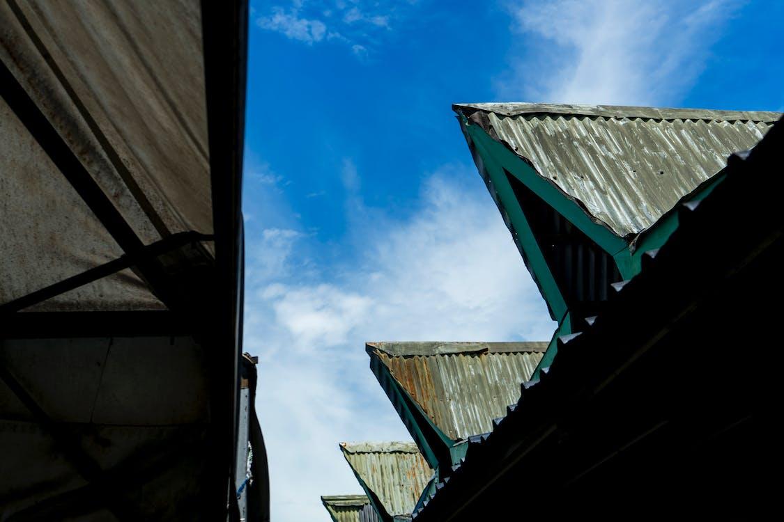 Photo of Gray Galvanized Steel Roofs