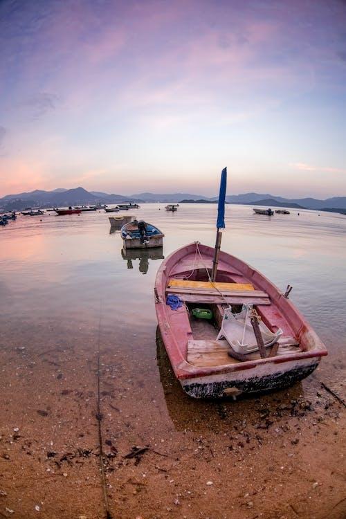 boot, meer, meeresküste