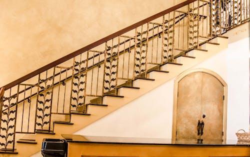 ステップ, 手すり, 階段の無料の写真素材