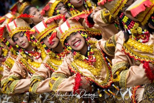 Foto stok gratis festival, sinulog, tersenyum