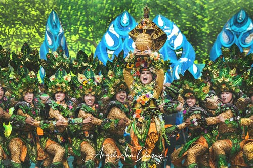 Foto stok gratis festival cebu sinulog