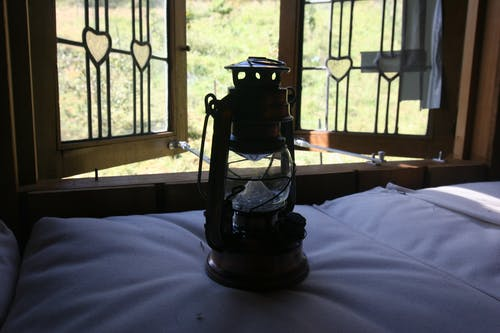 Free stock photo of bed, camping, Gas lamp, lamp