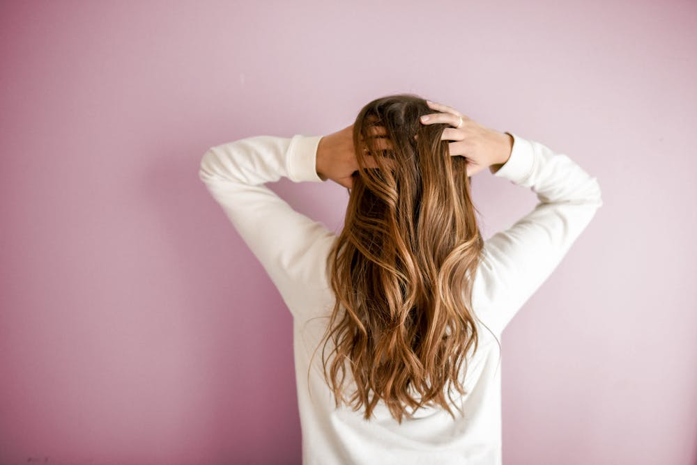 long hair Girl @pixels