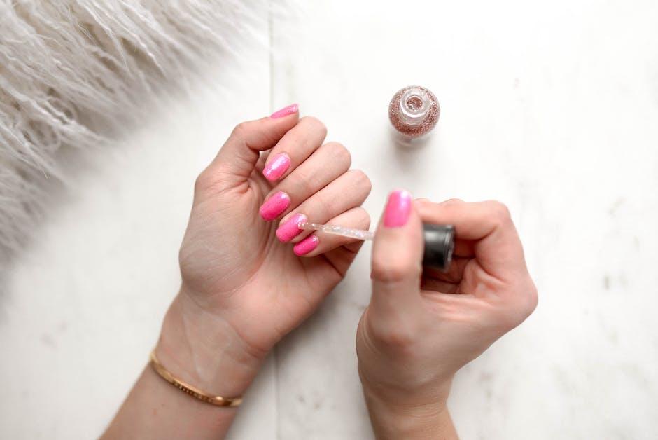 Woman's Pink Pedicure