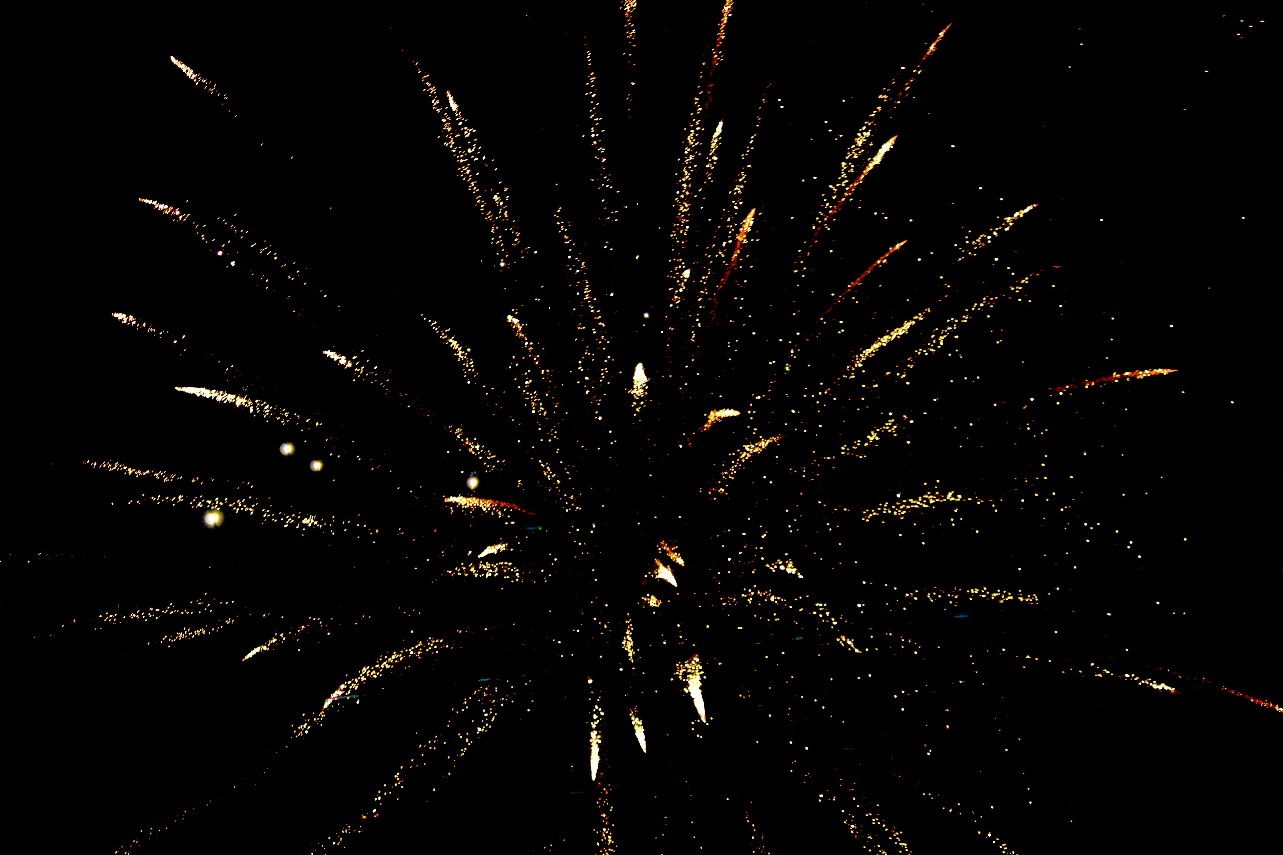 Photo of White and Brown Fireworks