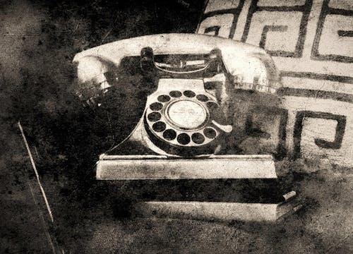 Darmowe zdjęcie z galerii z czarno-biały, drapanie, dzwonić