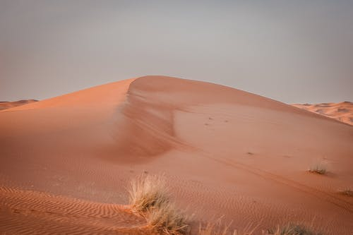 Scenic View of a Desert