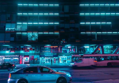 Základová fotografie zdarma na téma auto, autobus, budova