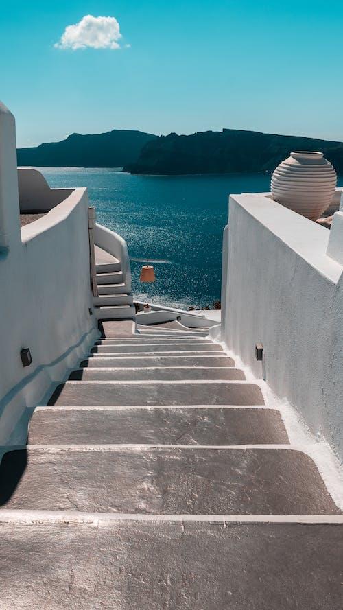 Ingyenes stockfotó a tenger felett, építészet, fény témában