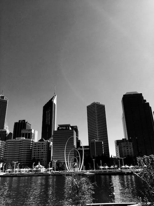 Foto profissional grátis de água, arquitetura, arranha-céu, arranha-céus