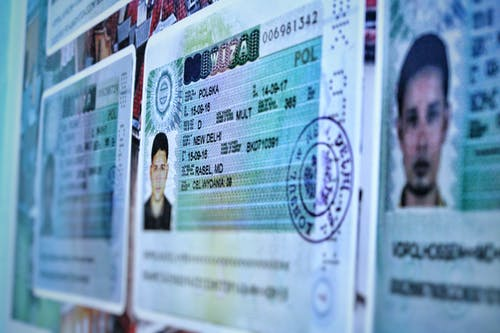 Free stock photo of education, passport, student visa