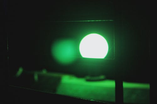 Free stock photo of green light, light, low light