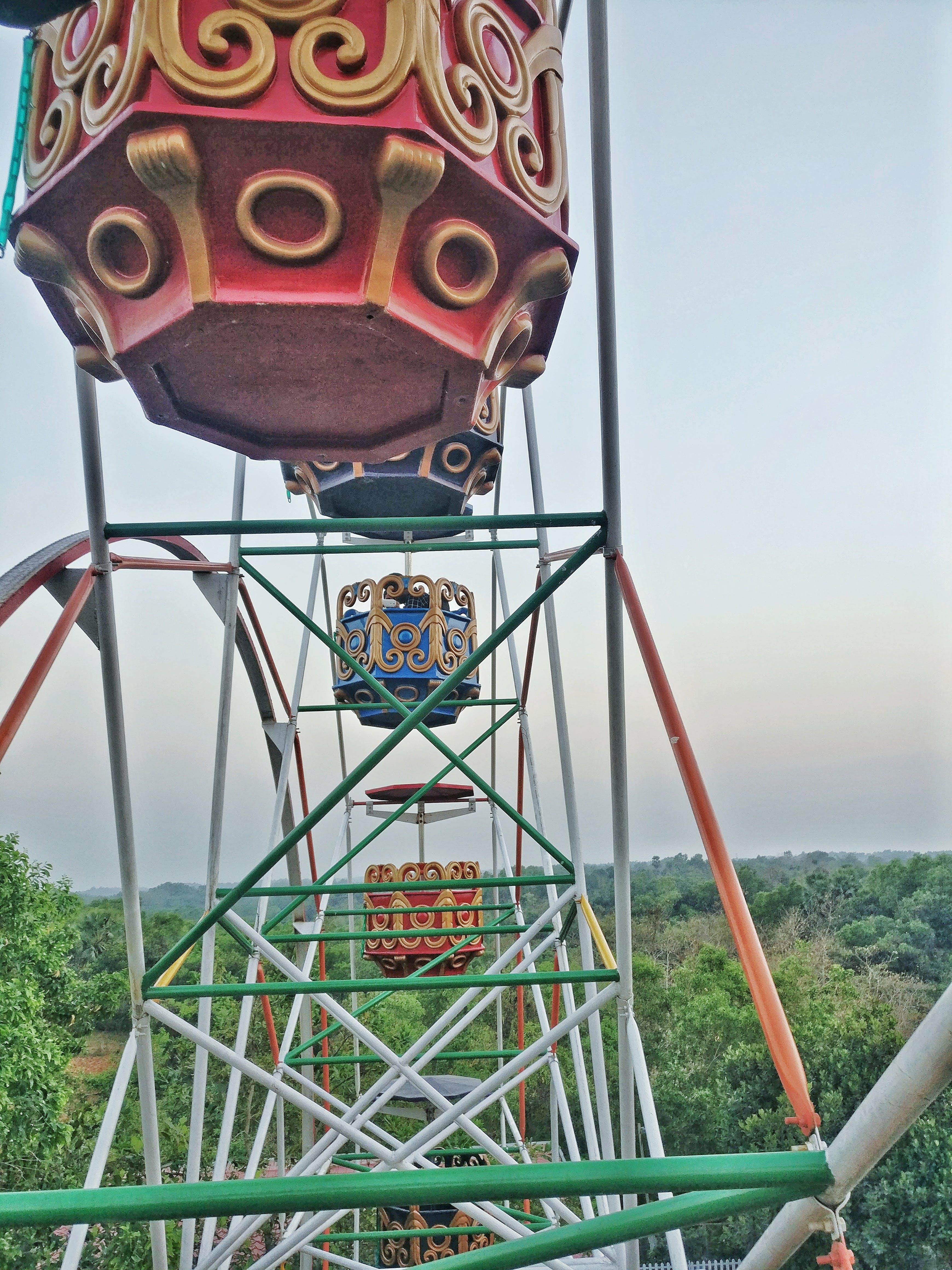 Free stock photo of amaze park, children park, marry go round, rounding wheel