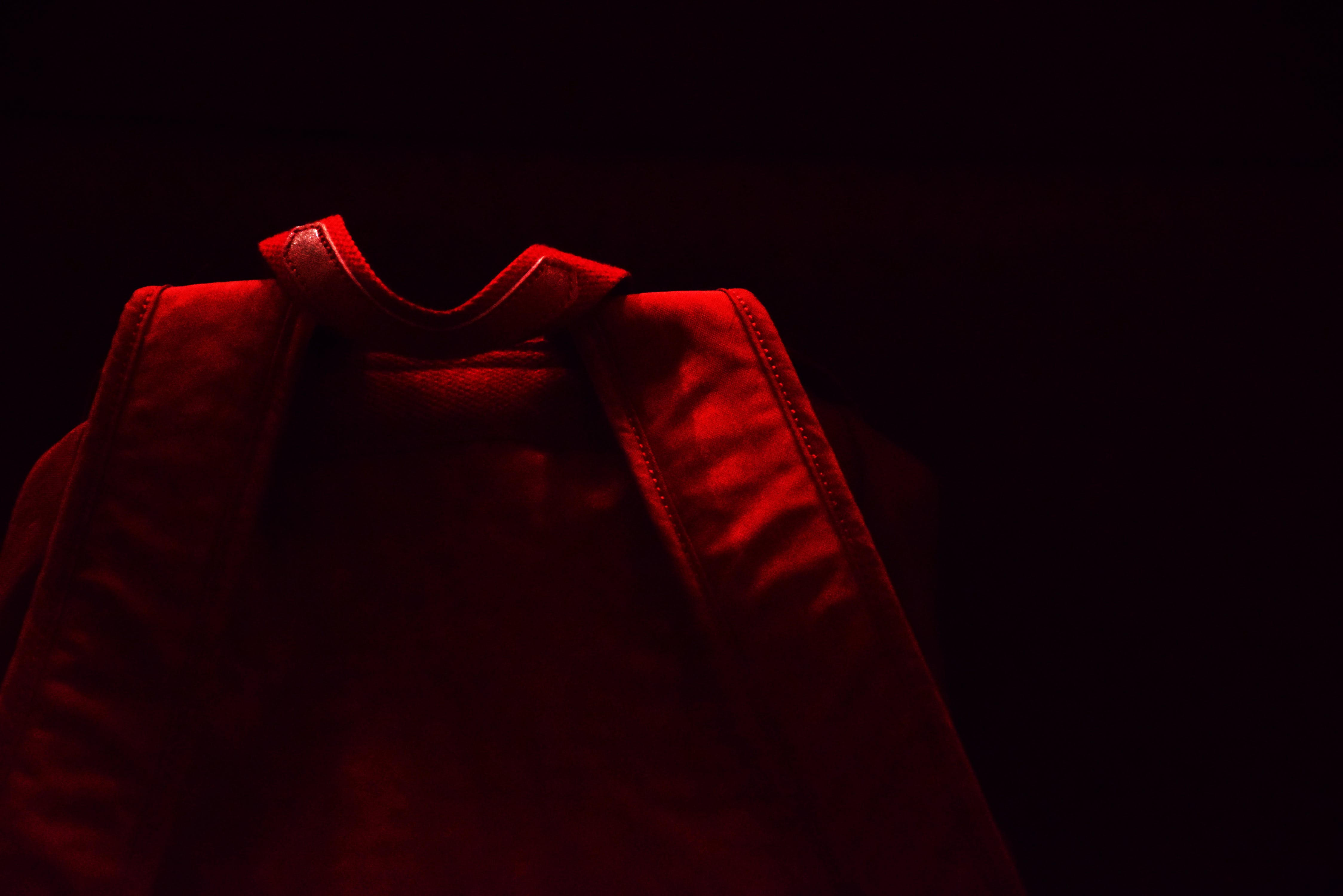 Free stock photo of backpack, bag, cloth, red