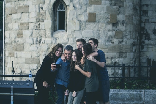 Free stock photo of people, friends, happy, group