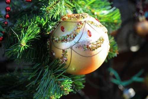 クリスマスボールの無料の写真素材