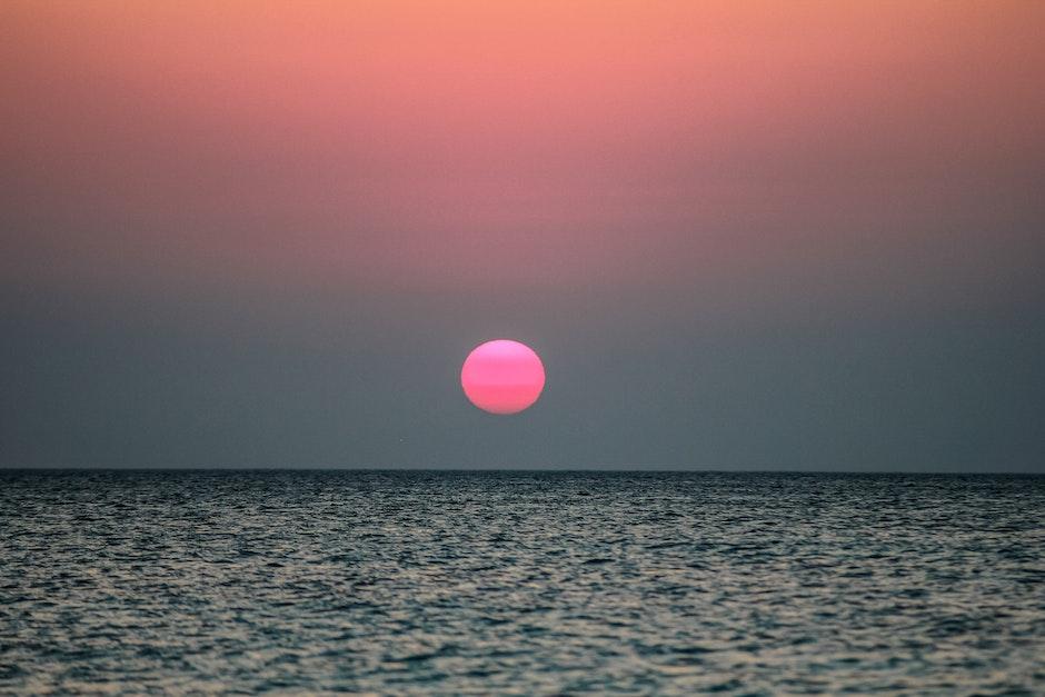 horizon, ocean, sea