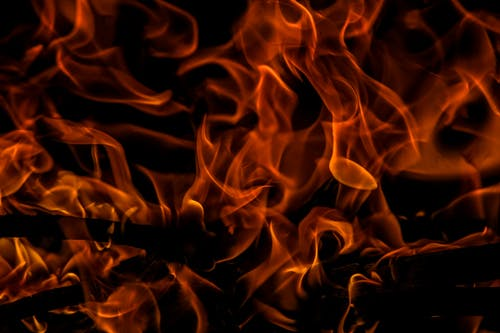 Kostenloses Stock Foto zu brand, brennen, dunkel, feuer