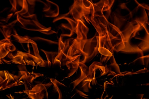 Free stock photo of dark, fire, hot, burning
