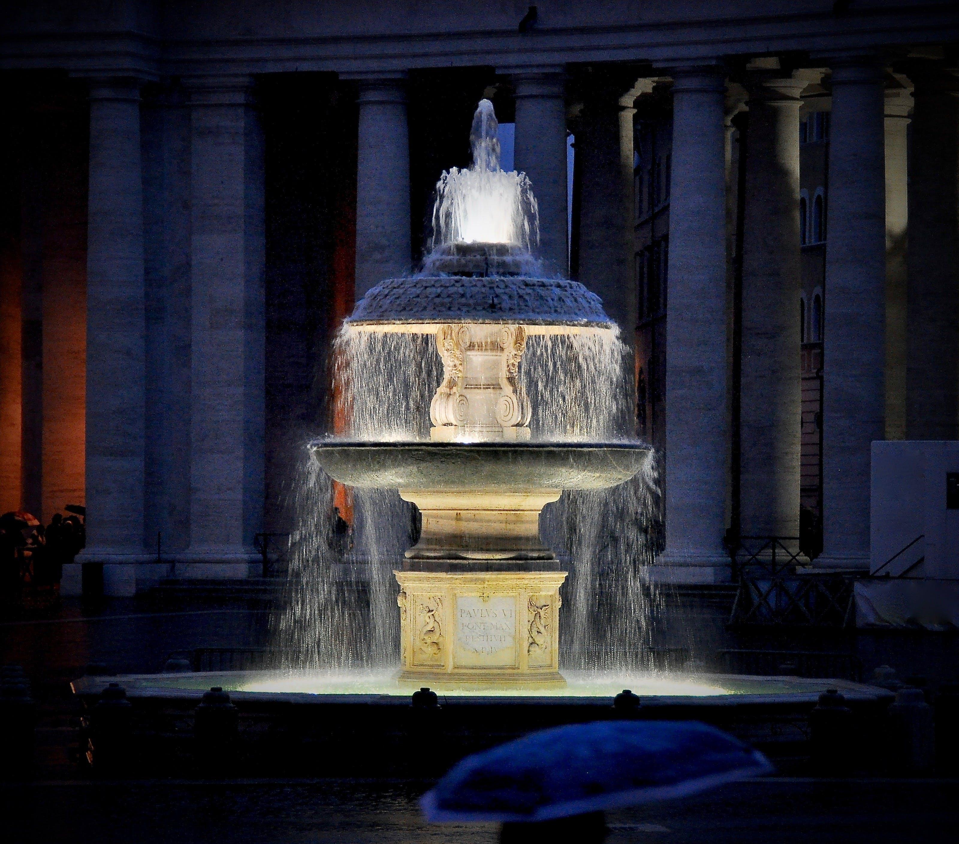 Безкоштовне стокове фото на тему «ніч, святого петра, фонтан»