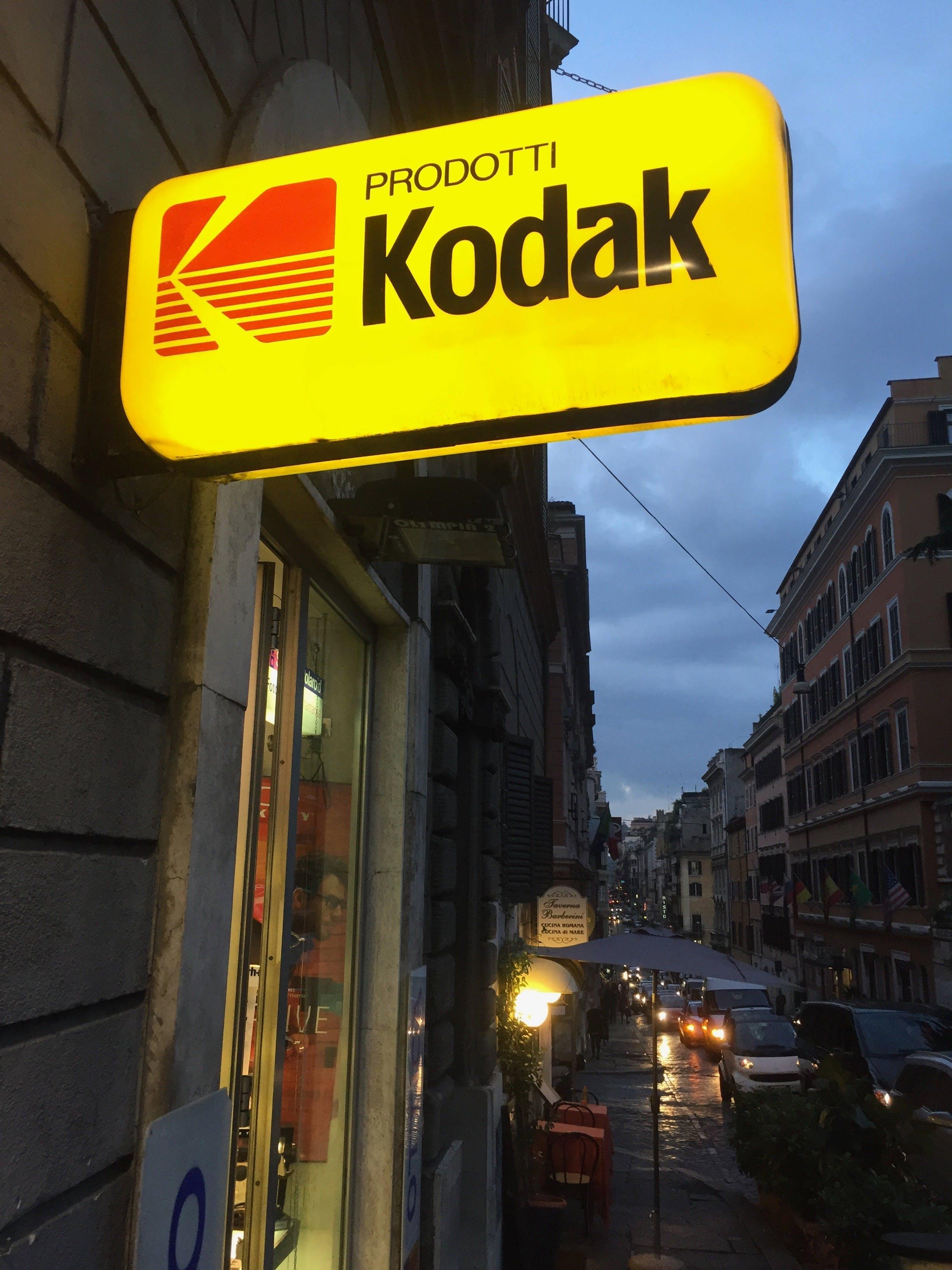 Безкоштовне стокове фото на тему «Kodak, рекламний щит»